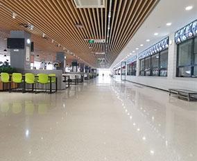 重庆南开两江学校无机纳米硅整体地面